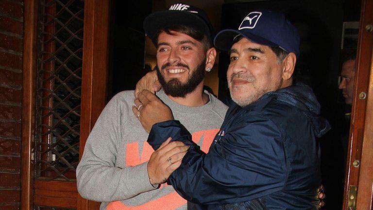 Diego Armando Maradona Sinagra, hijo italiano del Diez.