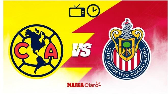 América vs Chivas: Horario y dónde ver los cuartos de final del...