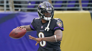 Lamar Jackson, QB de Baltimore.