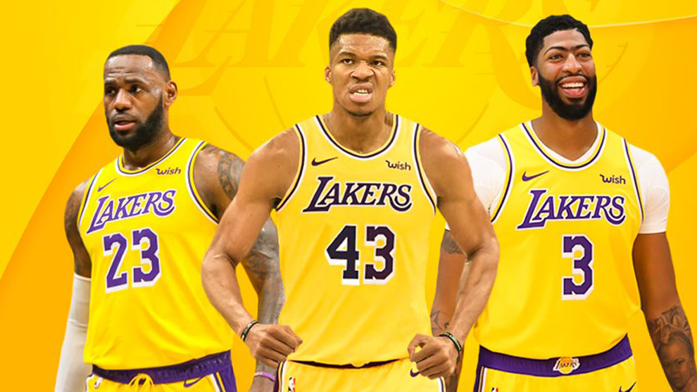 Nba The Lakers Plan To Try And Sign Giannis Antetokounmpo Marca In English