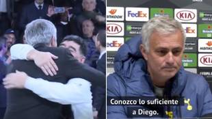 La emotiva despedida de Mourinho a Maradona... y la bonita anécdota que nunca olvidará