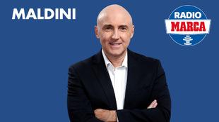 Maldini, en Radio MARCA.