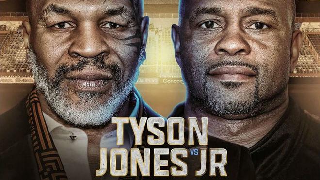 El pesaje de Mike Tyson y Roy Jones Jr en directo