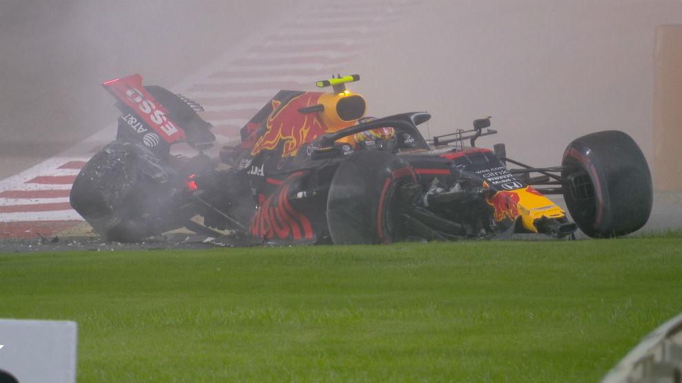 Un tremendo accidente de Albon falsea la sesión de Carlos Sainz (13º)