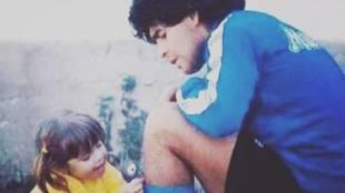 """La emotiva despedida de Dalma Maradona a su padre: """"Siempre le tuvo muchísimo miedo a la muerte, pero hoy ya no..."""""""