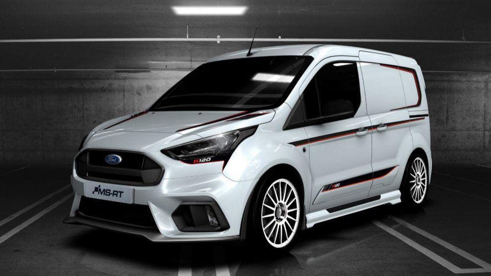 Ford Transit Connect R120: para repartos a ritmo de WRC