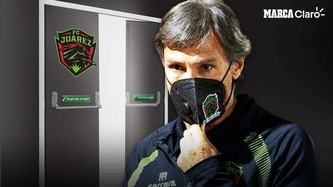 FC Juárez despide a Gabriel Caballero.