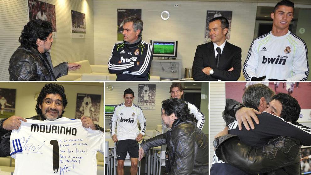 El día que  Cristiano conoció a Maradona