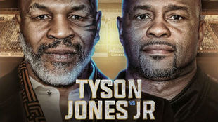 El pesaje de Mike Tyson y Roy Jones Jr en directo
