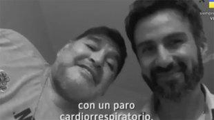 Filtran la llamada del médico de Diego a emergencias: ¡no dijo que era para Maradona!