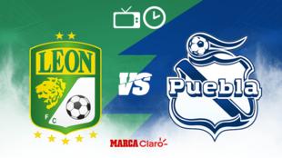 León vs Puebla: Horario y dónde ver el streaming online en vivo hoy...