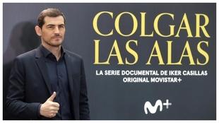 Casillas, en la presentación del documental sobre él.