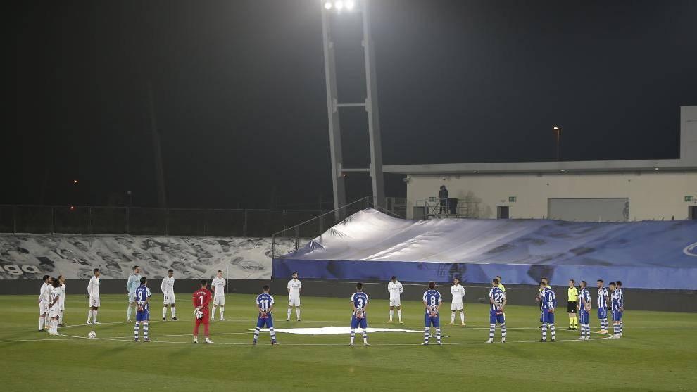Real Madrid 1-2 Alaves.