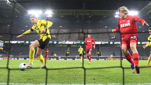 El increíble gol a puerta vacía que falló Haaland en su noche más humana: ¿el peor de su carrera?