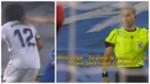 La conversación de Marcelo y el árbitro tras sufrir un claro tirón de pelo