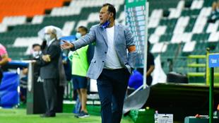 Juan Reynoso se dijo orgullos del actur del Puebla en cuartos de...