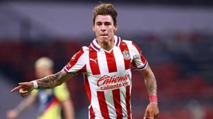 Chicote Calderón anotó tres goles en la eliminatoria ante el...