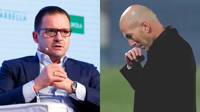 Predrag Mijatovic and Zinedine Zidane.