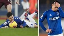 James Rodríguez ya sufre en la Premier