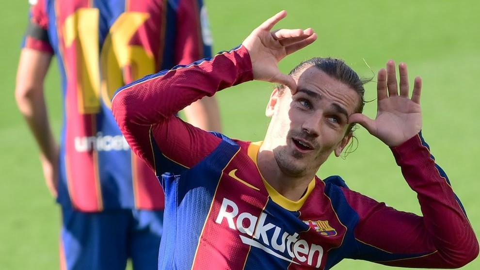 Griezmann is starting to have fun at Barcelona