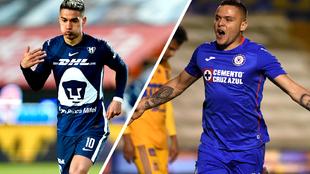Pumas y Cruz Azul con todo para avanzar a semifinales.