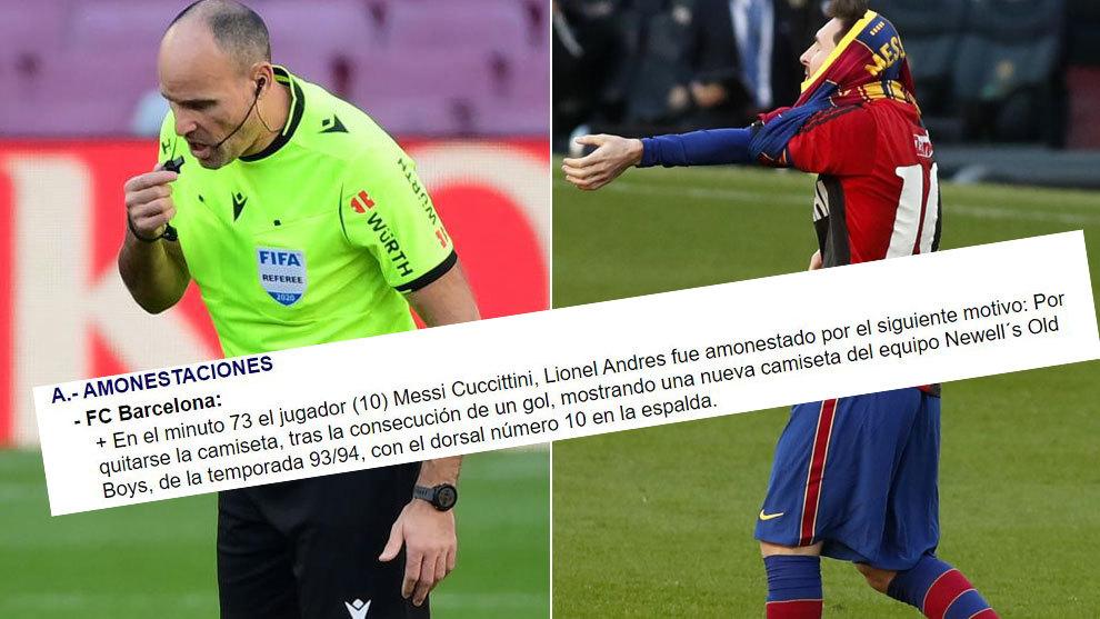 Mateu Lahoz's peculiar comment about Messi's Maradona tribute