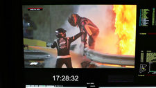 El impresionante rescate de Romain Grosjean en medio del incendio