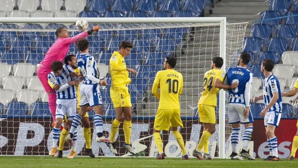 Real Sociedad 1-1 Villarreal.