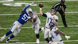 Titans vencen a los Colts.