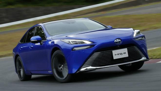 El Toyota Mirai estrena segunda generación.