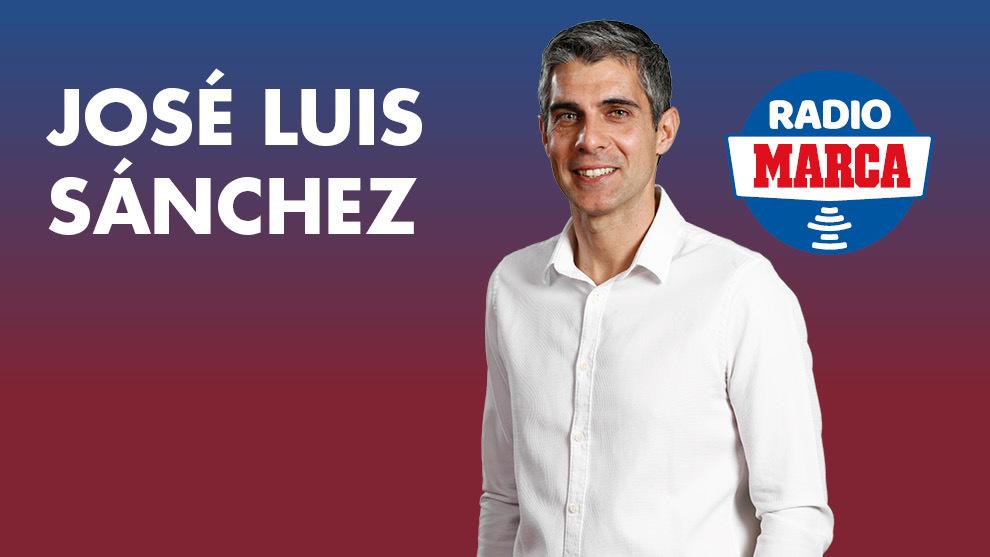 José Luis Sánchez, en La Tribu de Radio MARCA.