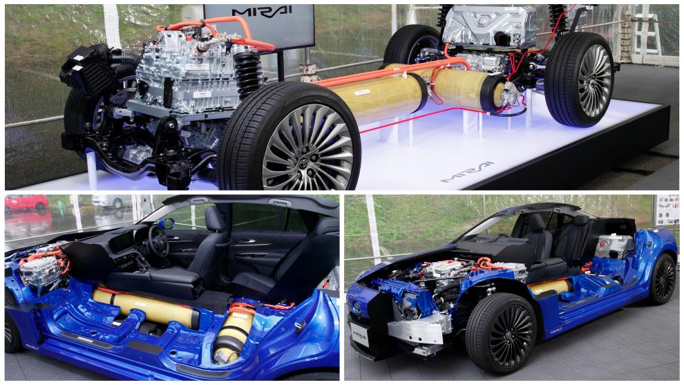 Toyota Mirai: Así son las 'entrañas' del coche de hidrógeno