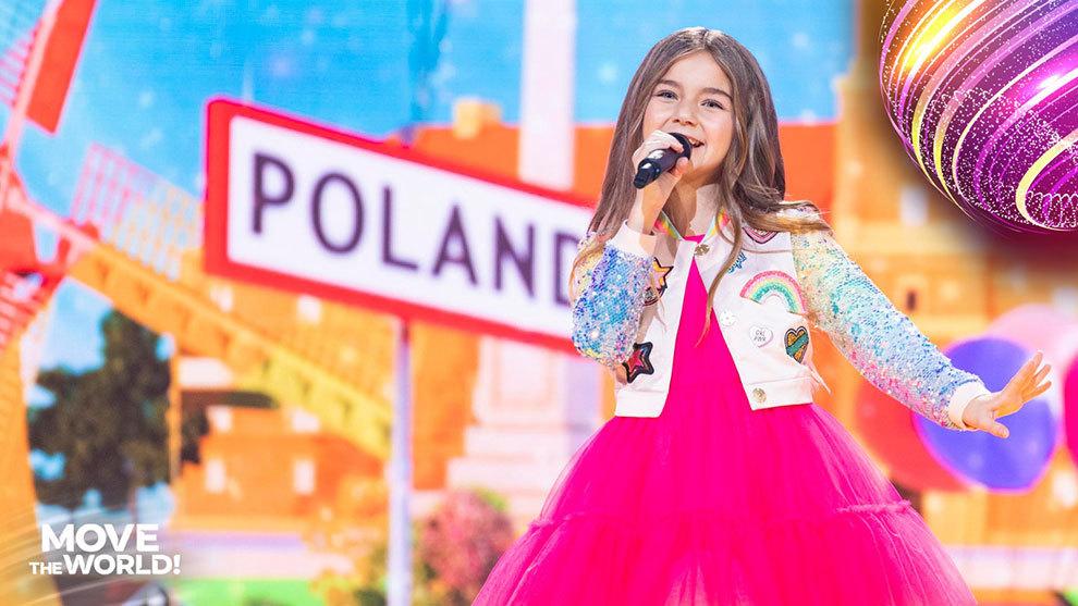 Valentina, ganadora de Eurovision Jr