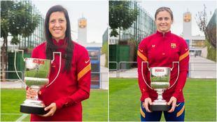 Jenni Hemoso y Sandra Paños, Premios Pichichi y Zamora.