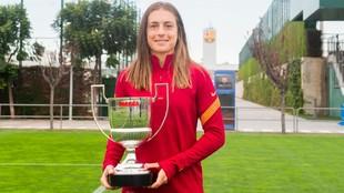Alexia Putellas, Premio MVP.