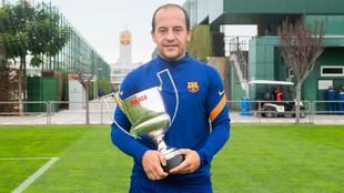 Lluís Cortés, Premio Mejor Entrenador.