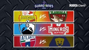 Liga Expansión MX, fechas y hora de los partidos de Liguilla