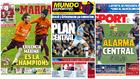 Las portadas: la Champions, el problema central del Barça...