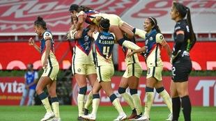 América vence en el global a Chivas Femenil y están en semifinales.