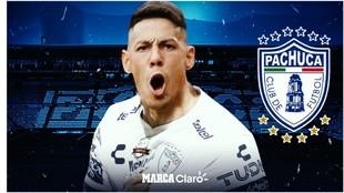 Mauro Quiroga es nuevo jugador del Pachuca.