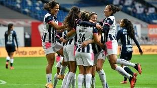 Pumas no pudo con Rayadas en la vuelta de los cuartos de final.
