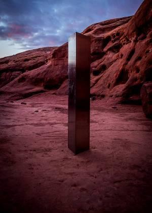 Así desapareció el misterioso monolito que estaba en Utah