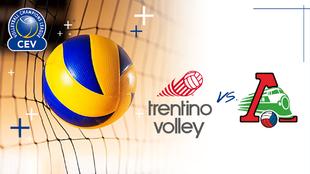 Trentino Itas vs Lokomotiv Novosibirsk, en vivo