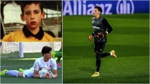 Dani Cárdenas, de niño a debutar con el Levante en Primera.
