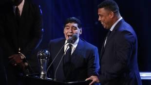 Ronaldo y su última gran anécdota con Maradona