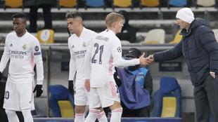 Odegaard and Zidane.