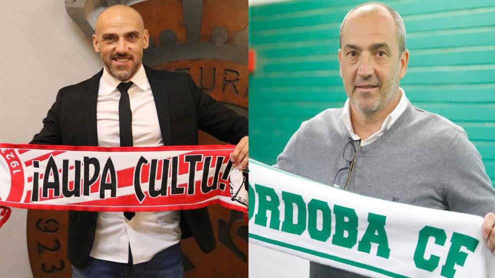 Cabello y Sabas, destituidos como técnicos de la Cultural y el Córdoba, respectivamente