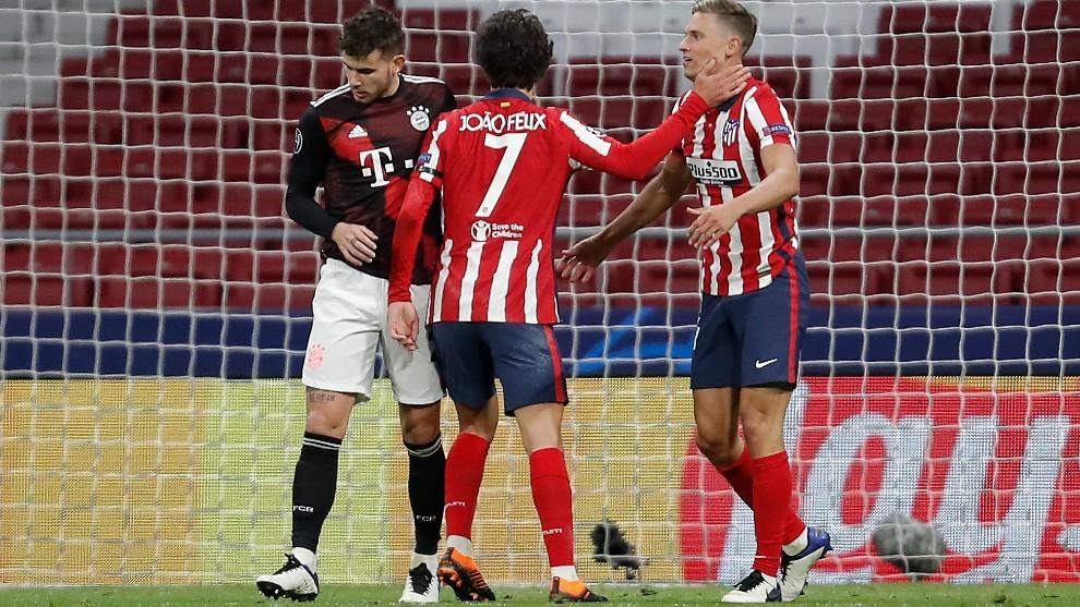 El Atlético también está en alerta Champions