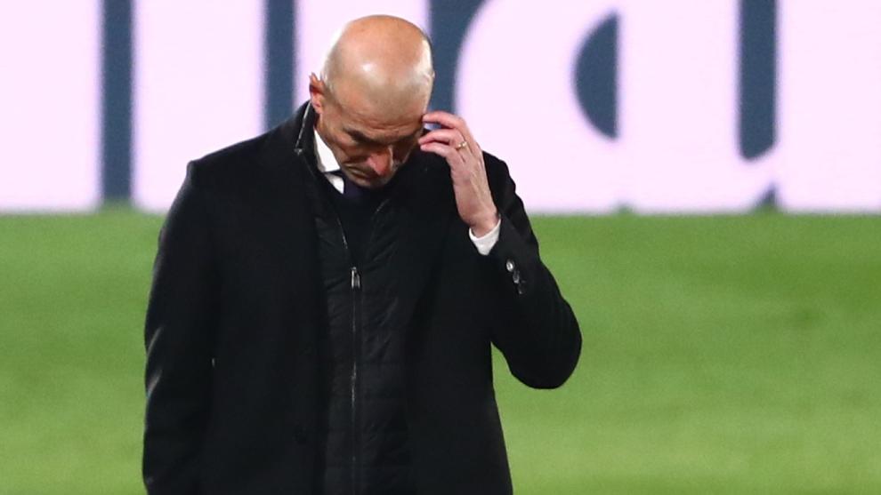 Zidane no tendría su futuro asegurado en el Real Madrid