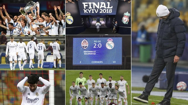 Kiev retrata la decadencia del Madrid